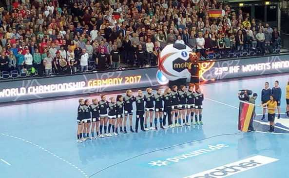 Deutschland - DHB - Ladies - Handball WM 2017 - Foto: SPORT4FINAL