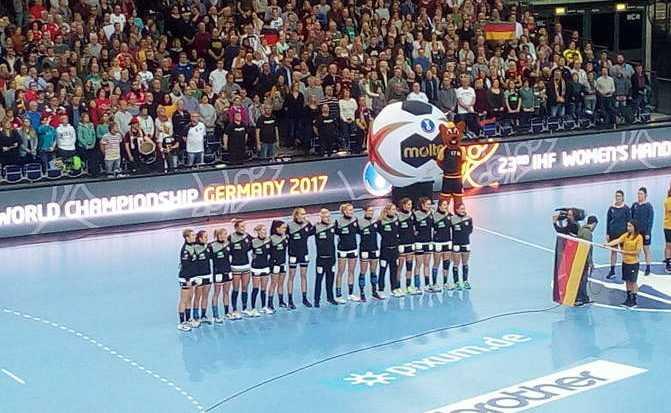 Deutschland - DHB - Ladies - Handball WM 2017 - Foto: SPORT4FINAL
