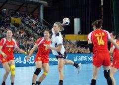 Cornelia Nycke Groot - Niederlande - Handball WM 2017 Deutschland - Niederlande vs. China - Foto: Jansen Media