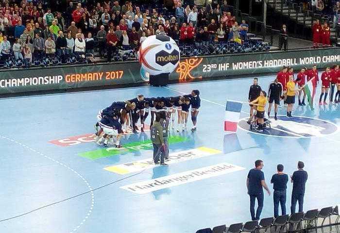 Frankreich vs. Ungarn - Handball WM 2017 Deutschland - Arena Leipzig - Foto: SPORT4FINAL