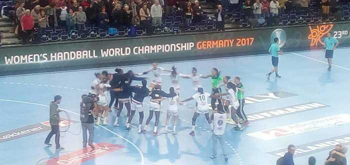 Frankreich - Handball WM 2017 Deutschland - Montenegro vs. Frankreich - Arena Leipzig - Foto: SPORT4FINAL