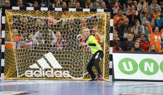 Katrine Lunde - Norwegen - Handball WM 2017 Deutschland - Halbfinale Norwegen vs. Niederlande - Foto: Jansen Media