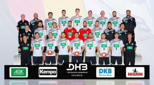 DHB - Deutschland - Nationalmannschaft - Männer - bad boys - Handball EM 2018 - Fotomontage: Sascha Klahn/DHB
