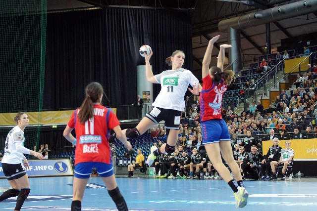 Alicia Stolle - Handball WM 2017 Deutschland - Serbien vs. Deutschland - Foto: Jansen Media
