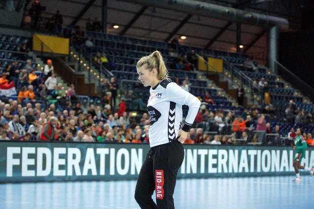 Tess Wester - Niederlande - Handball WM 2017 Deutschland - Niederlande vs. Kamerun - Foto: Jansen Media