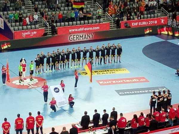 Handball EM 2018 - Deutschland vs. Montenegro - Arena Zagreb - EHF EURO - Foto: SPORT4FINAL