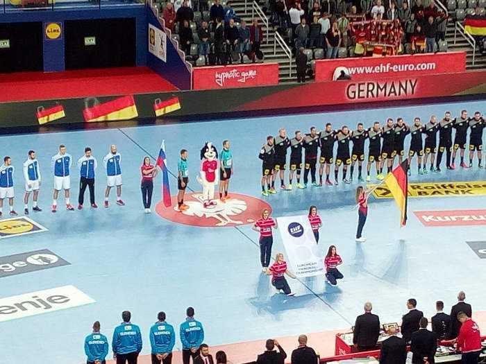 deutschland slowenien handball em