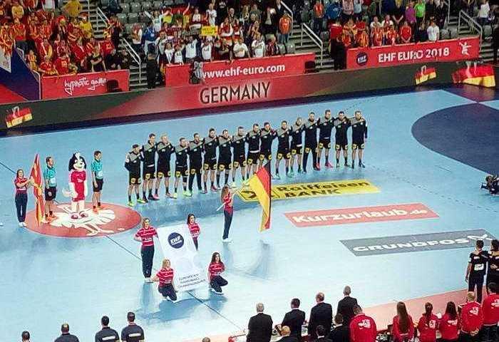 Handball EM 2018 - Deutschland vs. Mazedonien - Arena Zagreb - Foto: SPORT4FINAL