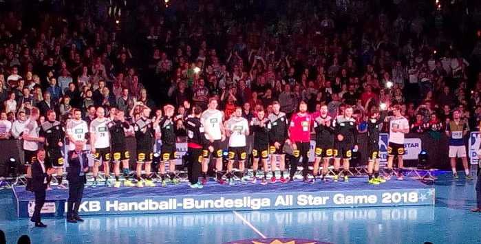 Handball All Star Game 2018 - Deutschland - bad boys - Arena Leipzig am 2. Februar 2018 - Foto: SPORT4FINAL