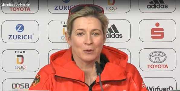 Claudia Pechstein - Olympia PyeongChang 2018 - Deutschland - DOSB - Olympiasiegerin - Quelle / Copyright: DOSB / SID Marketing