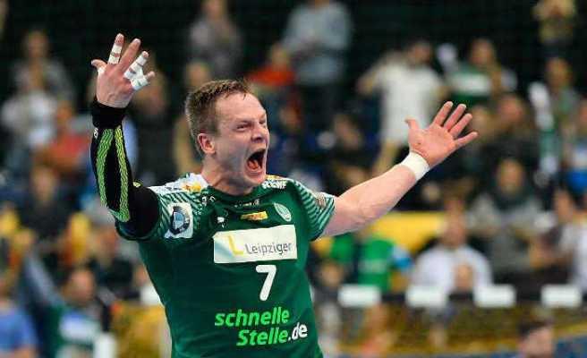 Aivis Jurdzs - SC DHfK Leipzig - Handball Bundesliga - Foto: Rainer Justen