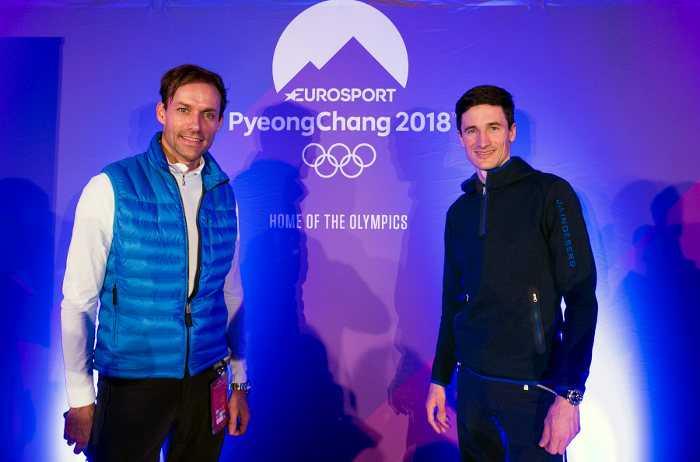 Sven Hannawald und Martin Schmitt - Olympia PyeongChang 2018 - Foto Copyright: Eurosport / Getty