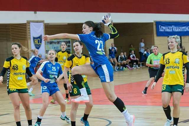 Lucy-Marie Kretzschmar (22) - HC Leipzig - Handball - Dritte Liga - Foto: R. Kunze
