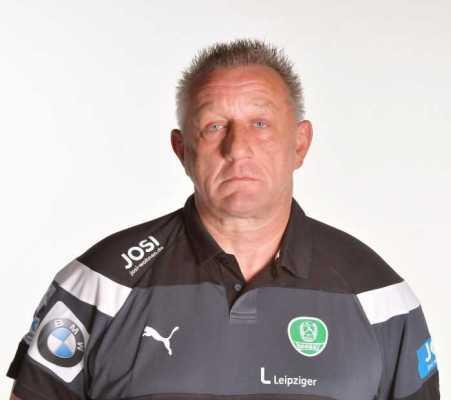 Michael Biegler - SC DHfK Leipzig - Handball Bundesliga - DHB-Pokal - Foto: Rainer Justen