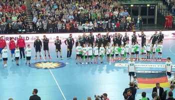 Deutschland vs. Serbien - Handball WM Test-Länderspiel am 4. April 2018 in der Arena Leipzig - Foto: SPORT4FINAL