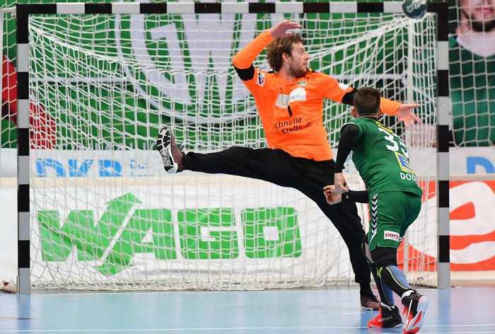 Jens Vortmann - SC DHfK Leipzig - Handball Bundesliga - Foto: Rainer Justen
