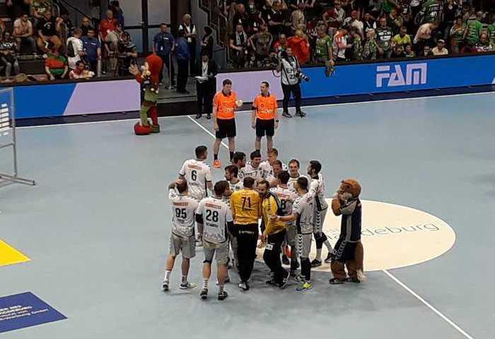 Füchse Berlin im Halbfinale der EHF Cup Finals gegen Frisch Auf Göppingen - Foto: SPORT4FINAL