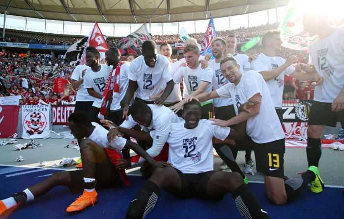 Fußball Bundesliga, Hertha BSC Berlin vs. RasenBallsport Leipzig - RB Leipzig - Foto: GEPA pictures/Roger Petzsche