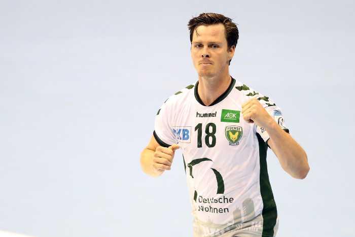 Hans Lindberg - Füchse Berlin - EHF Cup Finals 2018 in Magdeburg - Foto: EHF Media