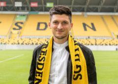 Jannis Nikolaou, Neuzugang für die Saison 2018/19. Dynamo Dresden. Fußball 2. Bundesliga. DDV-Stadion - Foto: SGD / Steffen Kuttner