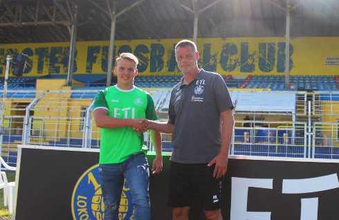 Lukas Wenzel. 1. FC Lok Leipzig. Fußball. Regionalliga. Bruno-Plache-Stadion. Foto: 1. FC Lok Leipzig