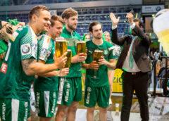 SC DHfK Leipzig - Verabschiedungen von Benjamin Meschke, Peter Strosack, Tobias Rivesjö und Yves Kunkel - Foto: Karsten Mann