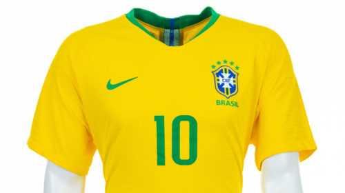 Fußball WM 2018: Brasilien Shirt – Quelle: FIFA