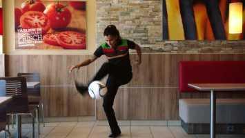 Fußball WM 2018: Burger King Aylin Yaren - Foto: Burger King
