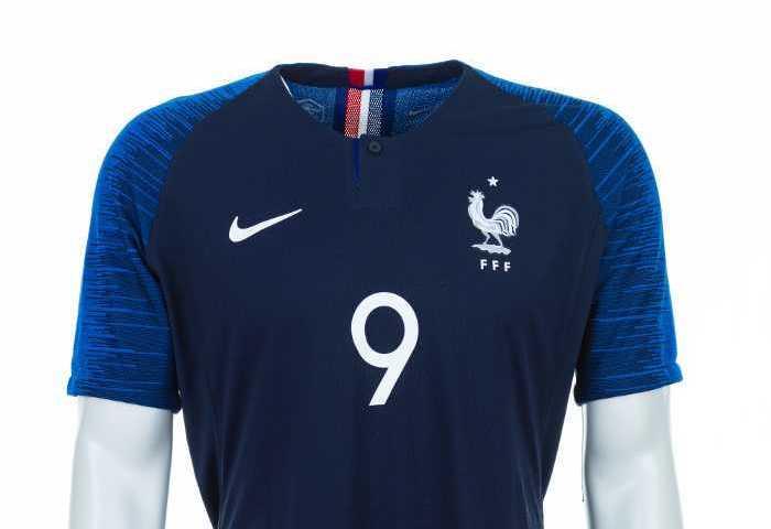 Fußball WM 2018: Frankreich Shirt – Quelle: FIFA
