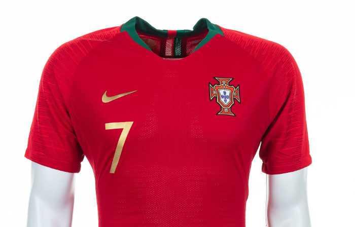 Fußball WM 2018: Portugal Shirt – Quelle: FIFA