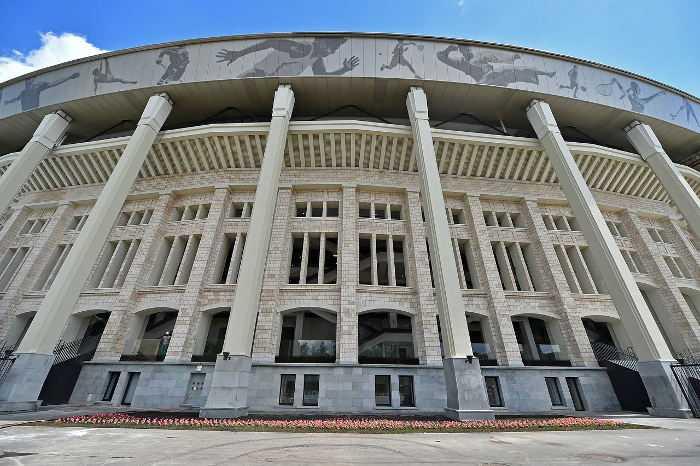 Fußball WM 2018 Russland: Moskau Luzhniki Stadium - Foto: FIFA
