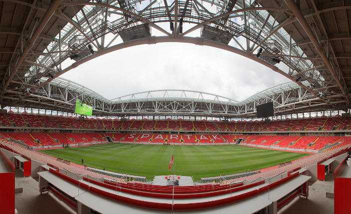 Fußball WM 2018 Russland: Moskau Spartak Stadion - Foto: FIFA