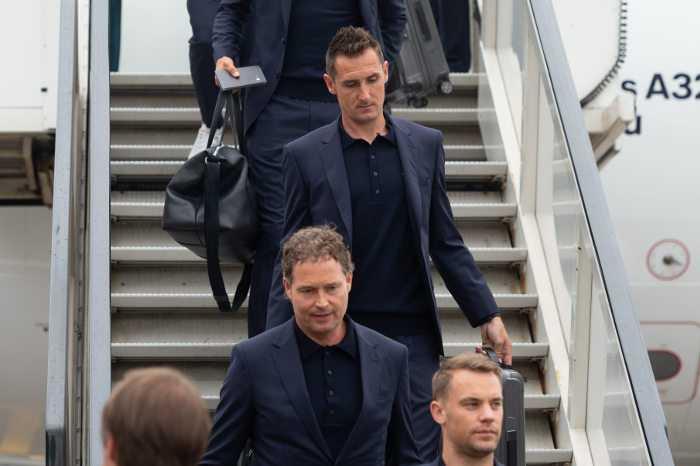 Fußball WM 2018 Russland: Manuel Neuer - Deutschland - Die Mannschaft - Ankunft in Moskau am 12.06.2018 - Foto: FIFA