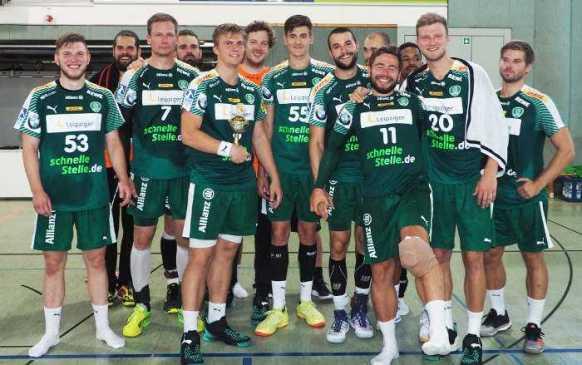 SC DHfK Leipzig - Sachsen-Cup-Sieger 2018 - Foto: SC DHfK Leipzig