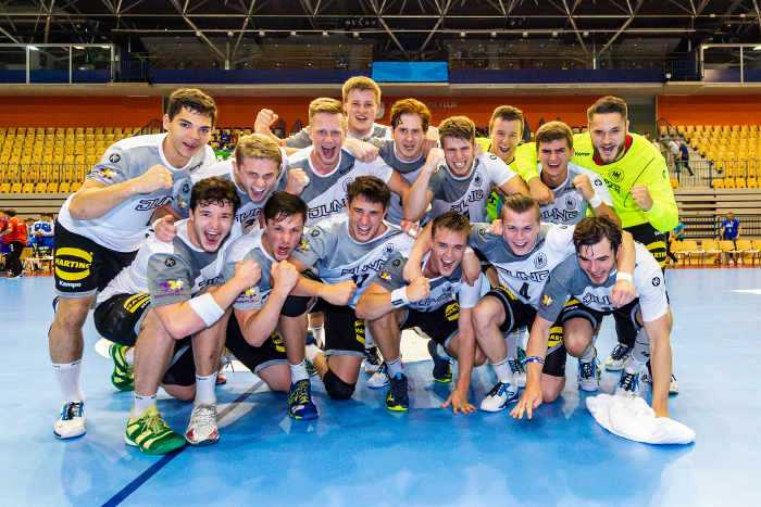 Handball DHB: Celje, Slowenien 25. Juli 2018 - EHF U20 EM 2018 - Hauptrunde - Serbien vs. Deutschland - Foto: Marco Wolf/DHB