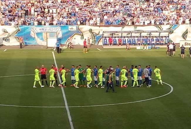 FC Hansa Rostock vs. SV Wehen Wiesbaden - Fußball Dritte Liga - Ostseestadion am 08.08.2018 - Foto: SPORT4FINAL