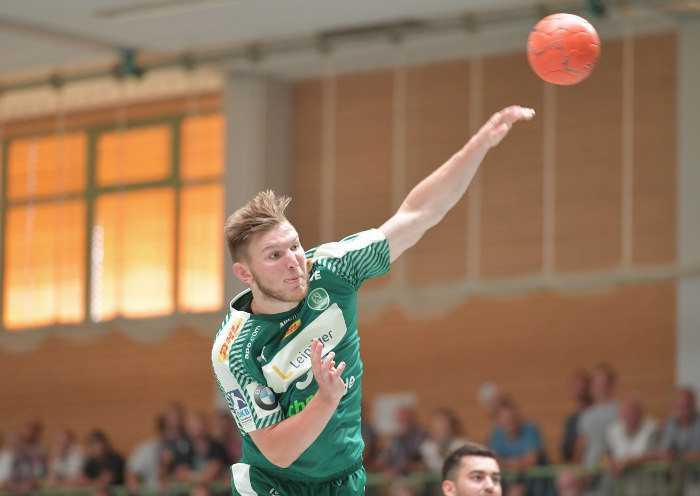 Jonas Hellmann - SC DHfK Leipzig - Handball Bundesliga - Foto: Rainer Justen