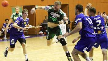 Maciej Gebala - SC DHfK Leipzig - Handball - Sparkassen-Cup 2018 - Foto: Steve Löser
