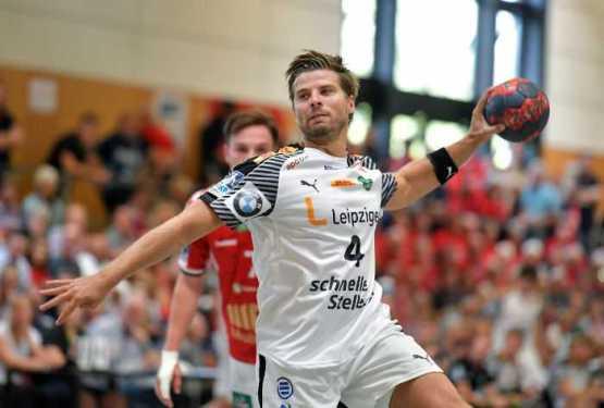 Patrick Wiesmach - SC DHfK Leipzig - Handball - Heide-Cup 2018 - Foto: Rainer Justen