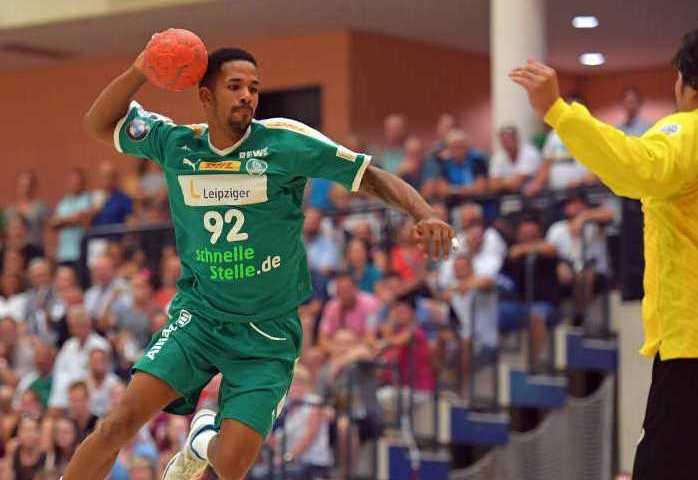 Raul Santos - SC DHfK Leipzig - Handball - Bundesliga - DHB-Pokal - Foto: Rainer Justen