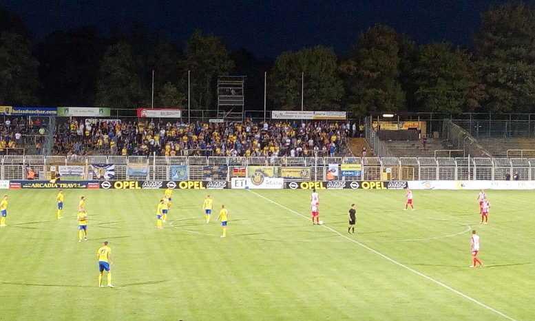 1. FC Lok Leipzig vs. FC Rot-Weiß Erfurt. Fußball Regionalliga. Bruno-Plache-Stadion am 12.09.2018 - Foto: SPORT4FINAL