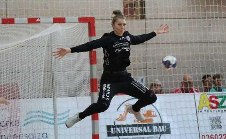 Ann Catrin Giegerich - Thüringer HC vs. Buxtehuder SV - Handball Bundesliga - Foto: Alexander Mühlbach