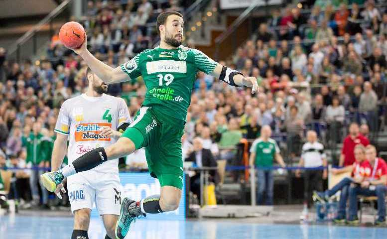Bastian Roschek - SC DHfK Leipzig - Handball Bundesliga - Foto: Karsten Mann