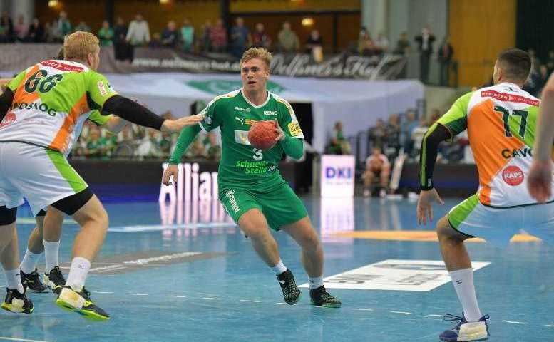 SC DHfK Leipzig vs. HSG Wetzlar - Franz Semper - Handball Bundesliga am 23.09.2018 in Arena Leipzig - Foto: Rainer Justen