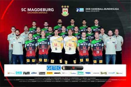 SC Magdeburg - Handball Bundesliga - DHB Pokal - Saison 2018-2019 - Foto: SC Magdeburg
