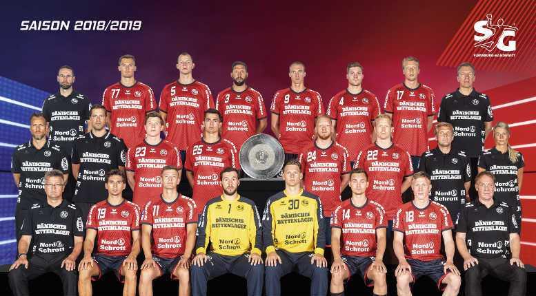 Flensburg Handewitt Mannschaft