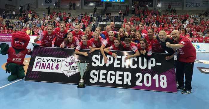 Thüringer HC vs. VfL Oldenburg - Handball Supercup 2018 - Foto: Alex Mühlbach