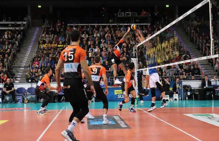 BR Volleys - Volleyball Supercup 2018 - VfB Friedrichshafen - Foto: BR Volleys