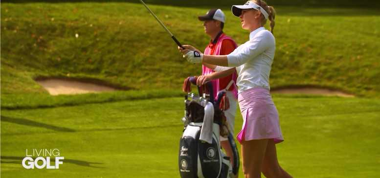 CNN Living Golf Jessica und Nelly Korda und Shane O'Donoghue - Foto: CNN International