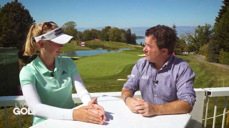 CNN Living Golf - Jessica und Nelly Korda und Shane O'Donoghue - Foto: CNN International